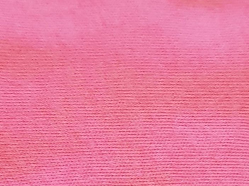 Candy pink cotton knit
