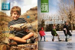Travel Alberta Stay magazine