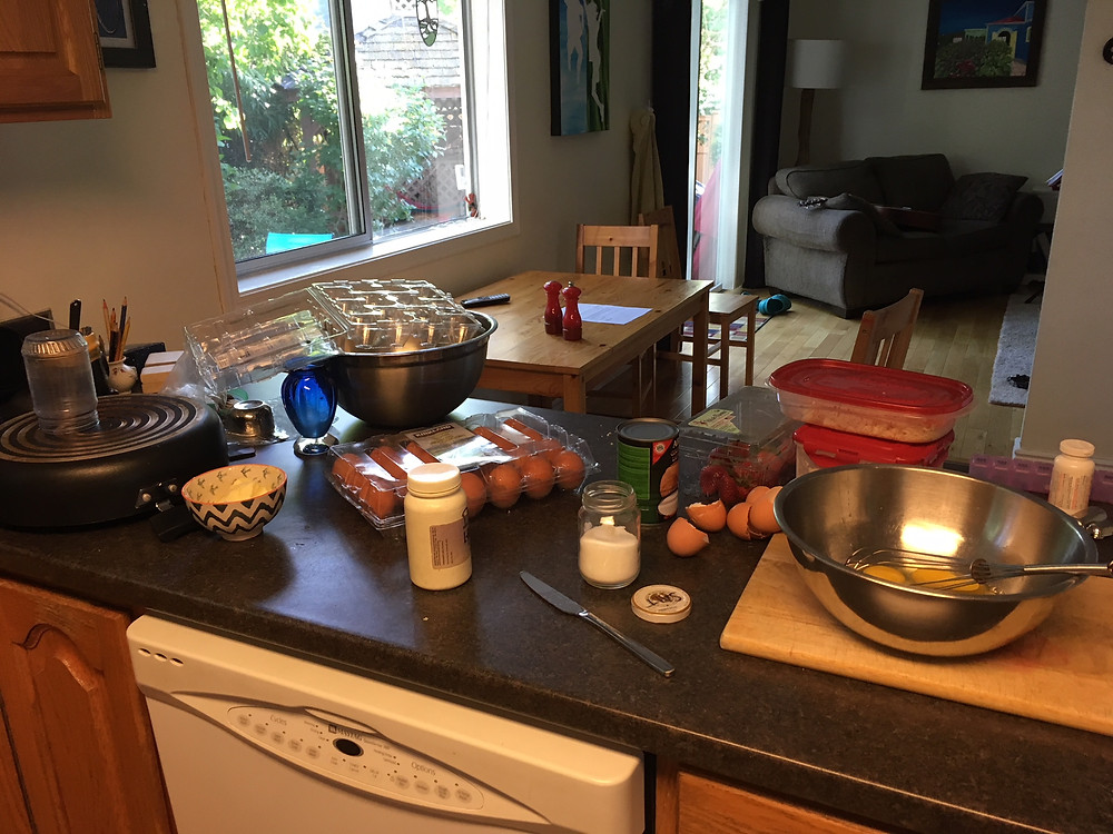 Whole30 mise-en-place fail
