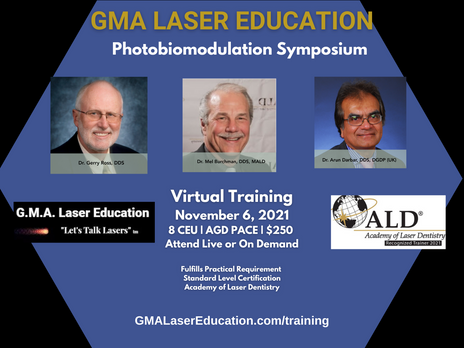 5 STAR Review of  May 8 Comprehensive Photobiomodulation Training Presented by GMA Laser Education