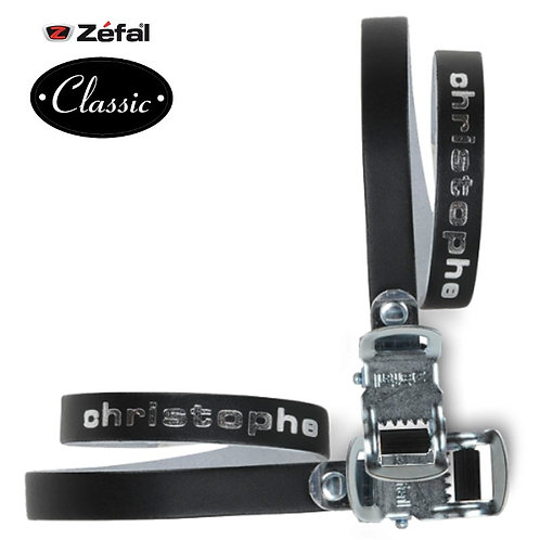 Cristophe leather toe straps