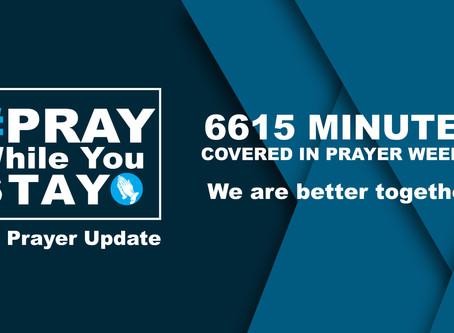 #PrayWhileYouStay