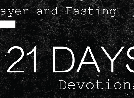 21 Day Prayer and Fasting Devotional
