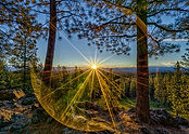 Sunrise on Awbrey Butte in Bend Oregon