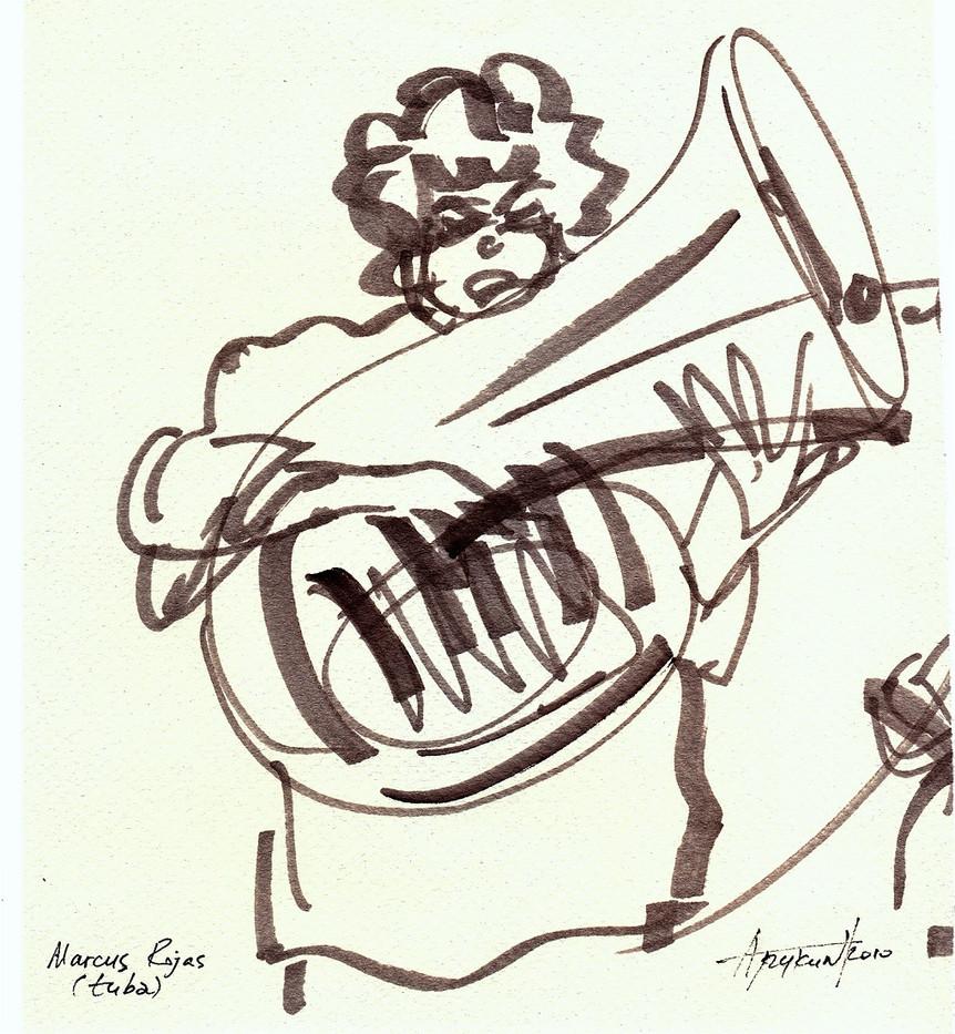 Marcus Rojas, Jazz-2010, Eilat мал.jpg