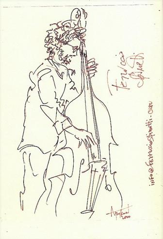 Ferruccio Spinetti, Jazz-2010, Eilat мал
