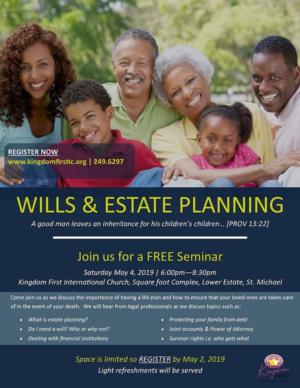 Wills & Estate Planning Seminar - FINAL