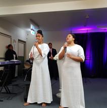 Angelina and Latisha