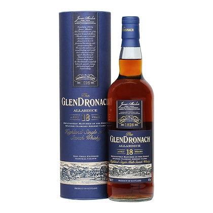 Glendronach 18 Year Single Malt Whisky