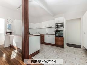 Example of Kitchen Renovation Design by Vision Renovations Sunshine Coast - pre-renovation photo of bedroom, kitchen & bathroom renovation in Maroochydore (Sunshine Coast)