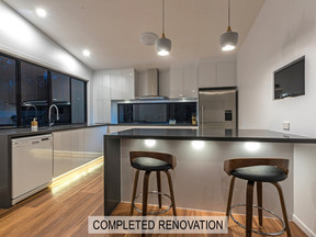 Example of Kitchen Renovation Design by Vision Renovations Sunshine Coast - image of completed kitchen renovation in Maroochydore (Sunshine Coast)