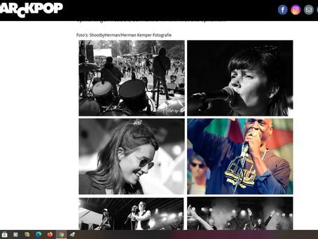 Nieuwe ParckPop-website is online.
