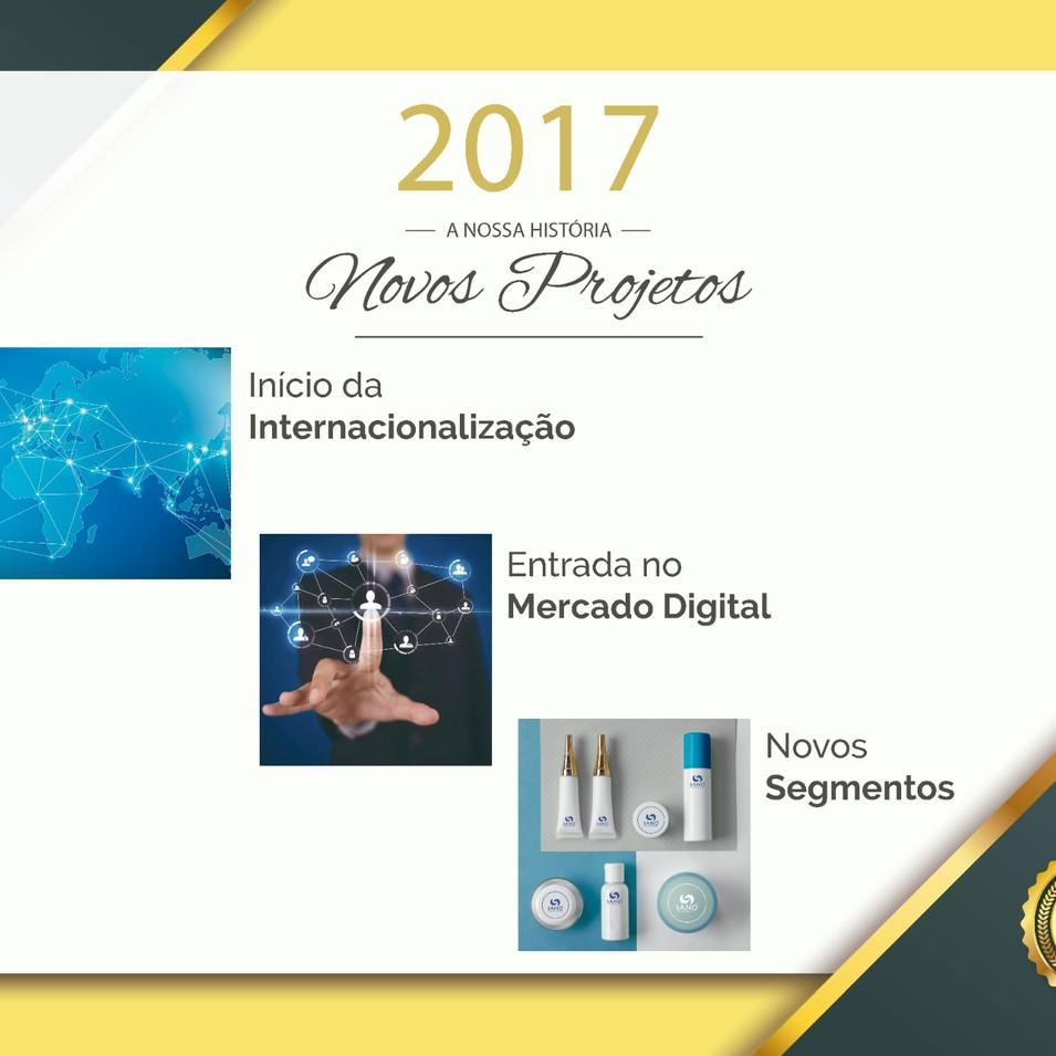 Novos Projetos - 2017