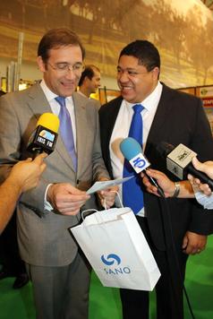 Eldon Valle e Ex Primeiro Ministro Passos Coelho