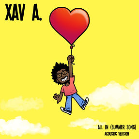 Xav A - All In Summer Song Album Cover