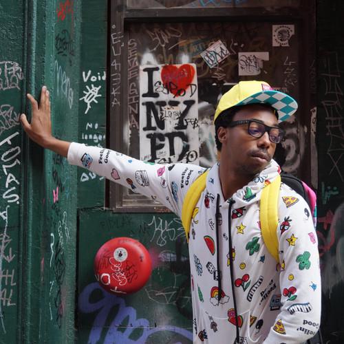 Xav A. in Variety Sweater, Square - John
