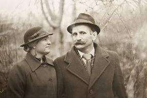 B & W Foto van een Couple
