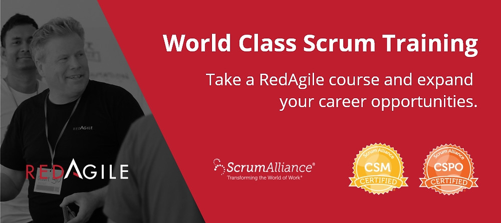 RedAgile World Class Scrum Training