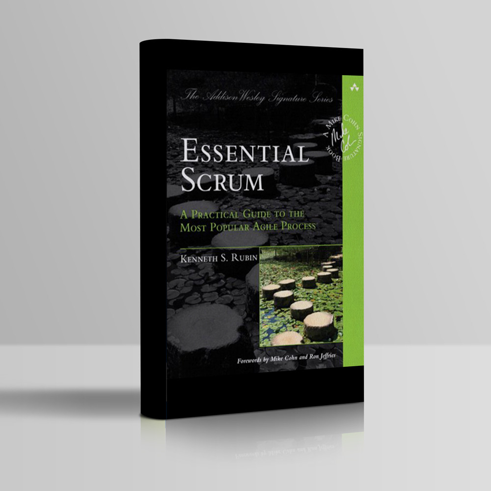 Kenneth Rubin Essential Scrum book cover