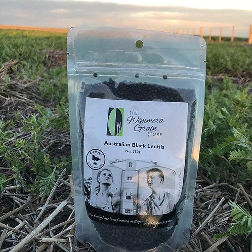 Australian Black Lentils 350g - Box of 10