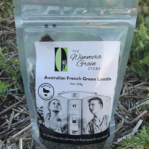 Australian French Style Green Lentils 350g - Box of 10
