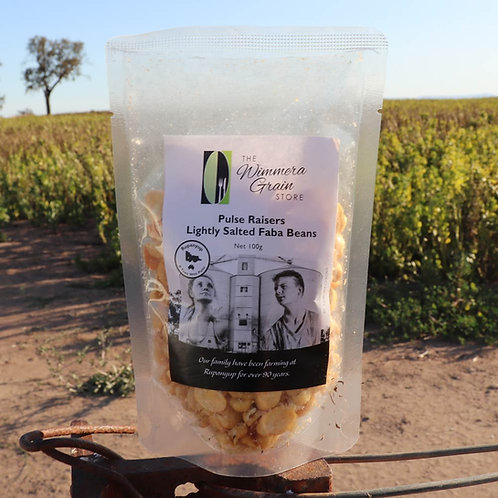 Pulse Raisers Faba Bean Splits Lightly Salted 100g
