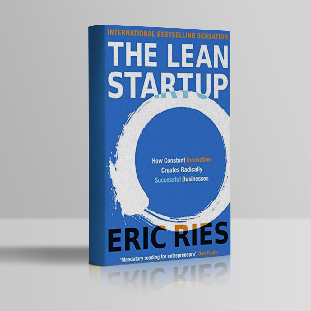Eric Ries The Lean Startup book cover