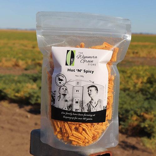 Pulse Raisers Straw Hot and Spicy (Medium) 150g