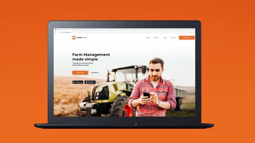 Farmsimple Website