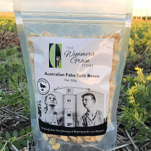 Australian Faba Bean Splits 350g
