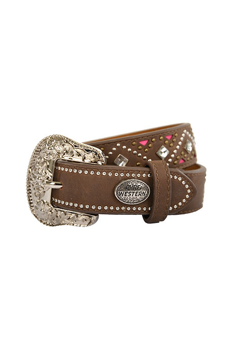 GIRLS PURE WESTERN SELBY BELT