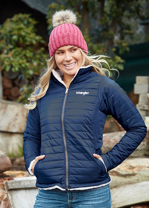LADIES WRANGLER AMY REVERSIBLE JACKET