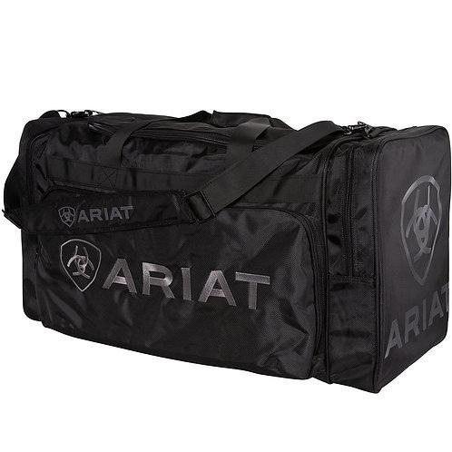 LARGE ARIAT GEAR BAG- BLACK/GREY