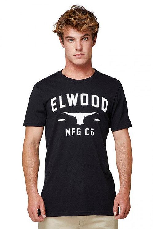 MENS ELWOOD TERRACE TEE- BLACK