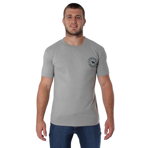 MENS RINGERS WESTERN Signature Bull Classic T Shirt Concrete $44.95