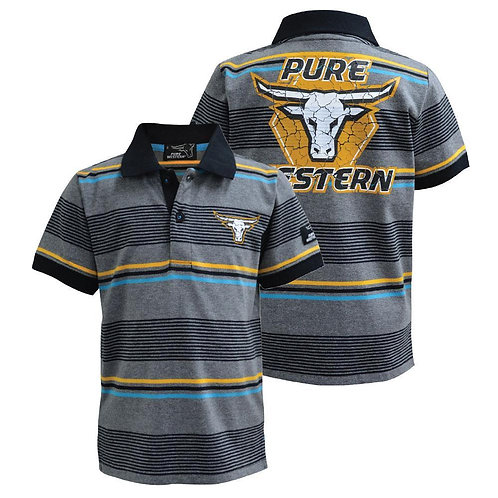 BOYS PURE WESTERN DEMPSEY POLO
