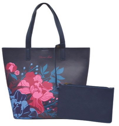 THOMAS COOK PRINTED TOTE - FLOWER BLOOM