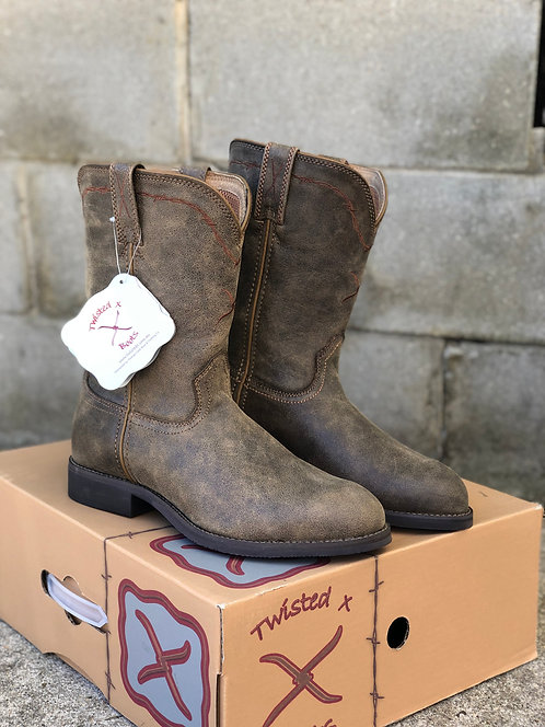 MENS TWISTED X BROWN BOMBER BOOTS