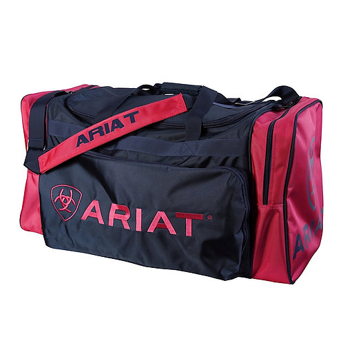 LARGE ARIAT GEAR BAG - PINK / NAVY