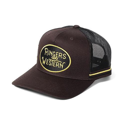 RINGERS WESTERN Truckstop Trucker Cap - Coffee