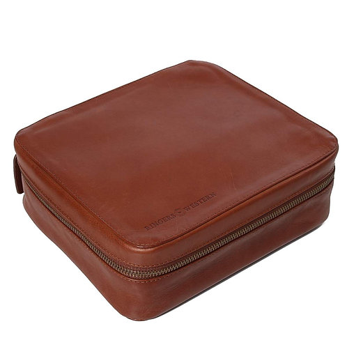 RINGERS WESTERN Leonara Leather Toiletry Bag