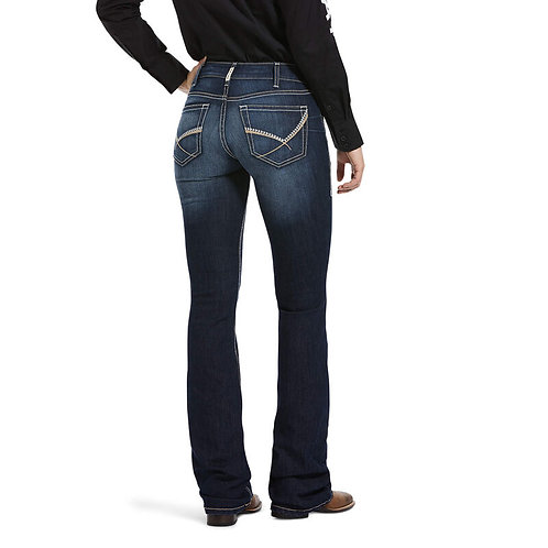 LADIES ARIAT REAL MID RISE CLEO BOOTCUT