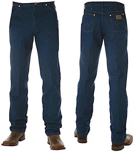 MENS WRANGLER COWBOY CUT ORIGINAL FIT - PREWASHED 13MWZPW