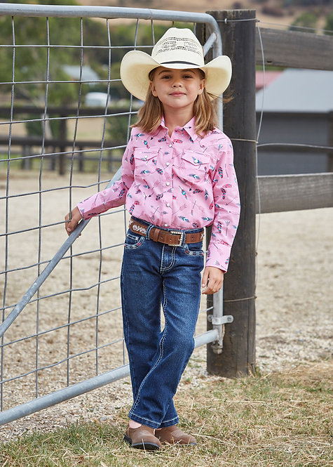PURE WESTERN GIRLS HOLLY BOOTCUT JEAN