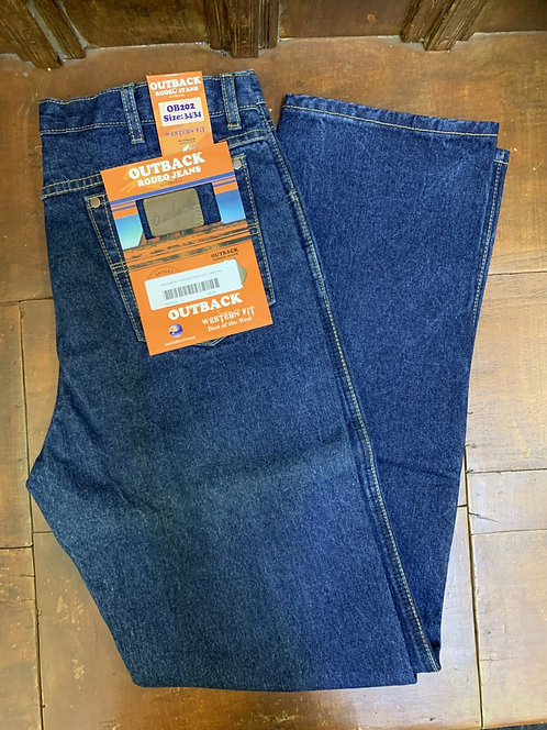 MENS OUTBACK SUPPLY CO 14OZ WESTER CUT JEANS - OB202
