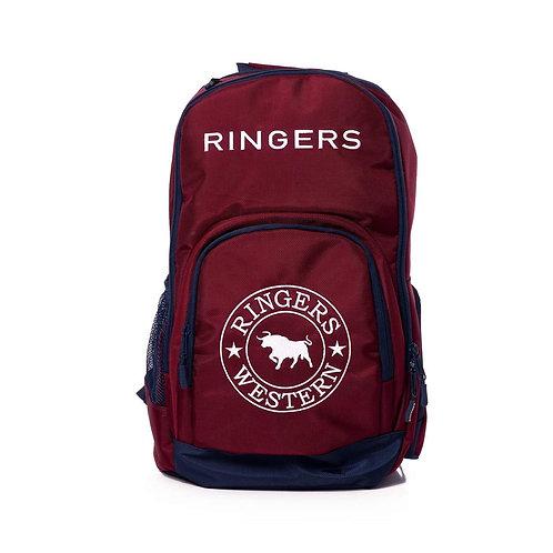 RINGERS WESTERN Wander Backpack Burgundy/Navy