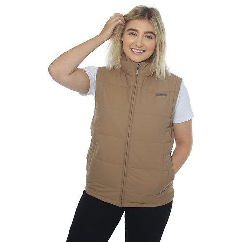 RINGERS WESTERN Ebenezer Womens Puffer Vest Clay