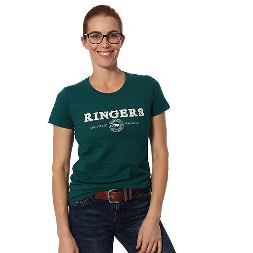 LADIES RINGERS WESTERN Suzannah Womens Classic T-Shirt Alpine