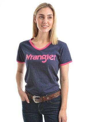 WRANGLER WOMENS SELINA S/S TEE