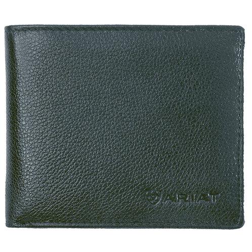 ARIAT Bi-Fold Wallet - Logo -  BLACK